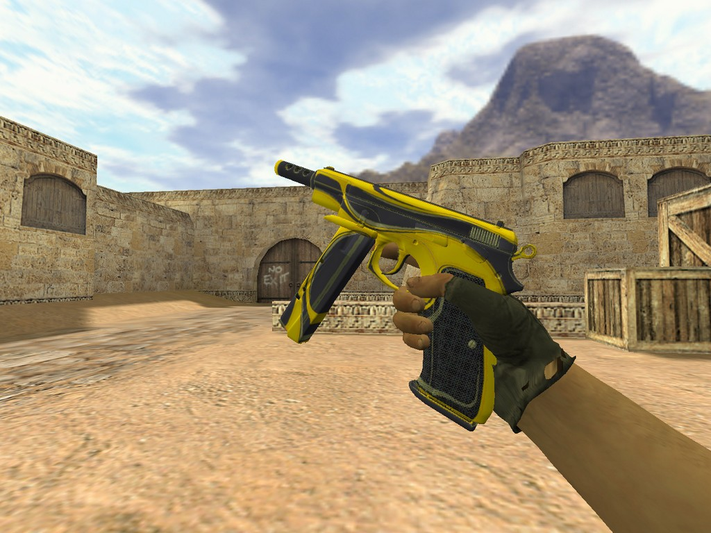 Скачать CZ-75 Желтый жакет