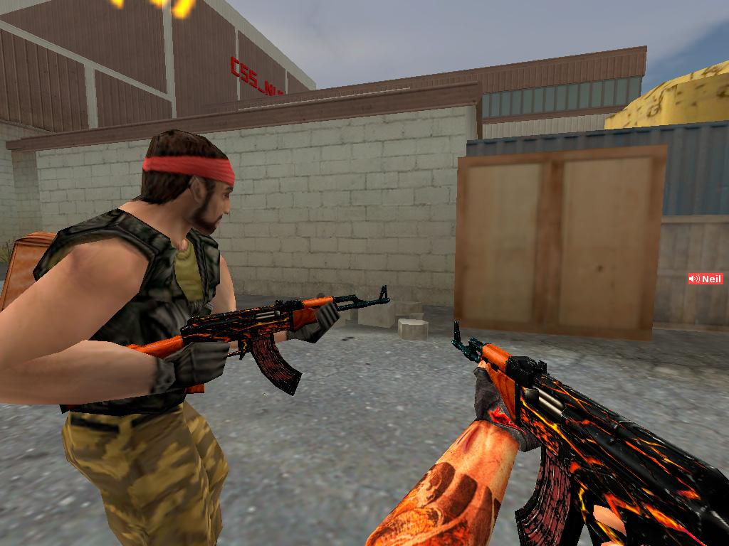 Скачать AK-47 Огонь