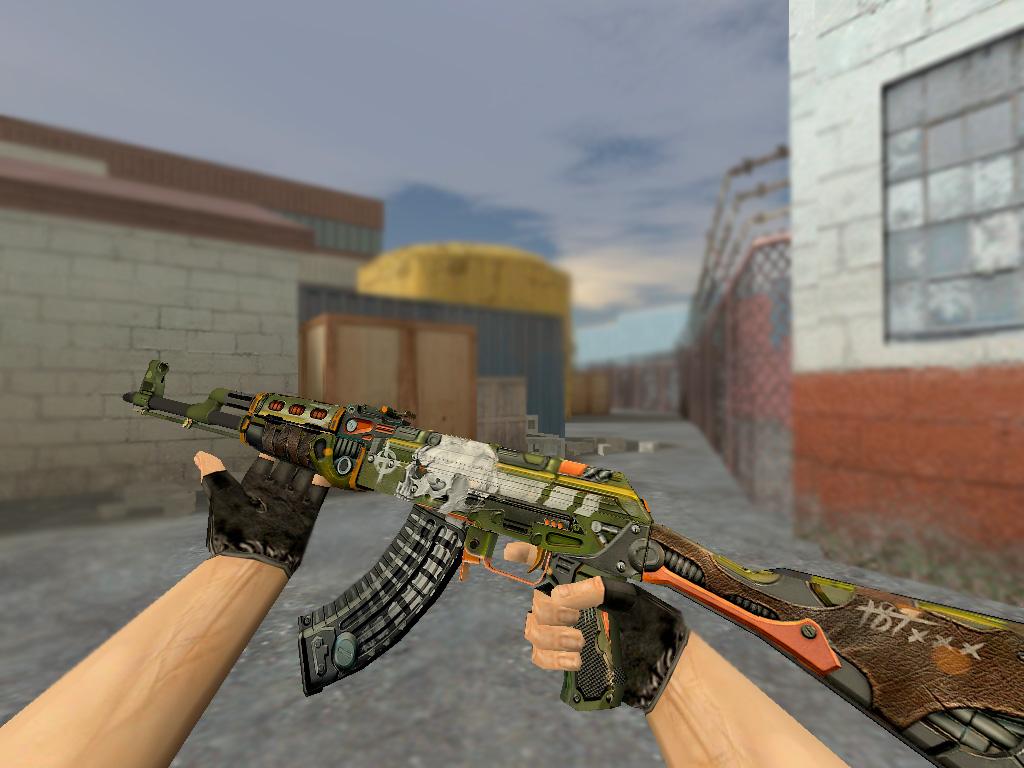 Скачать AK-47 Skulliosis