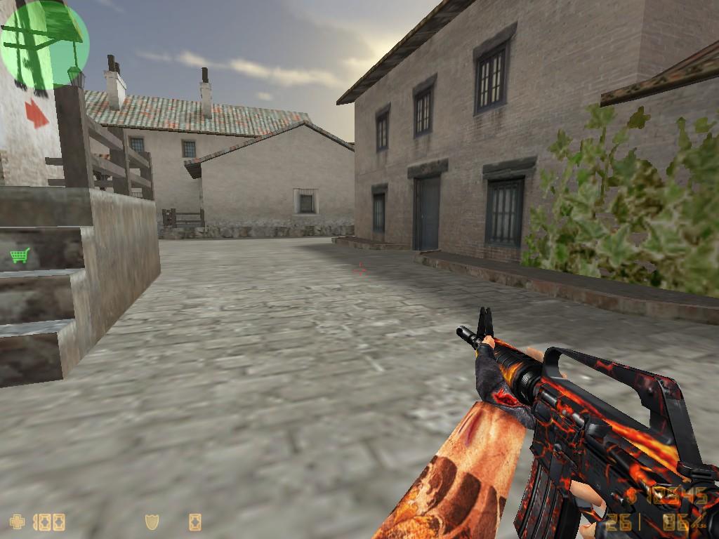 Скачать M4A1 Огонь для CS 1.6