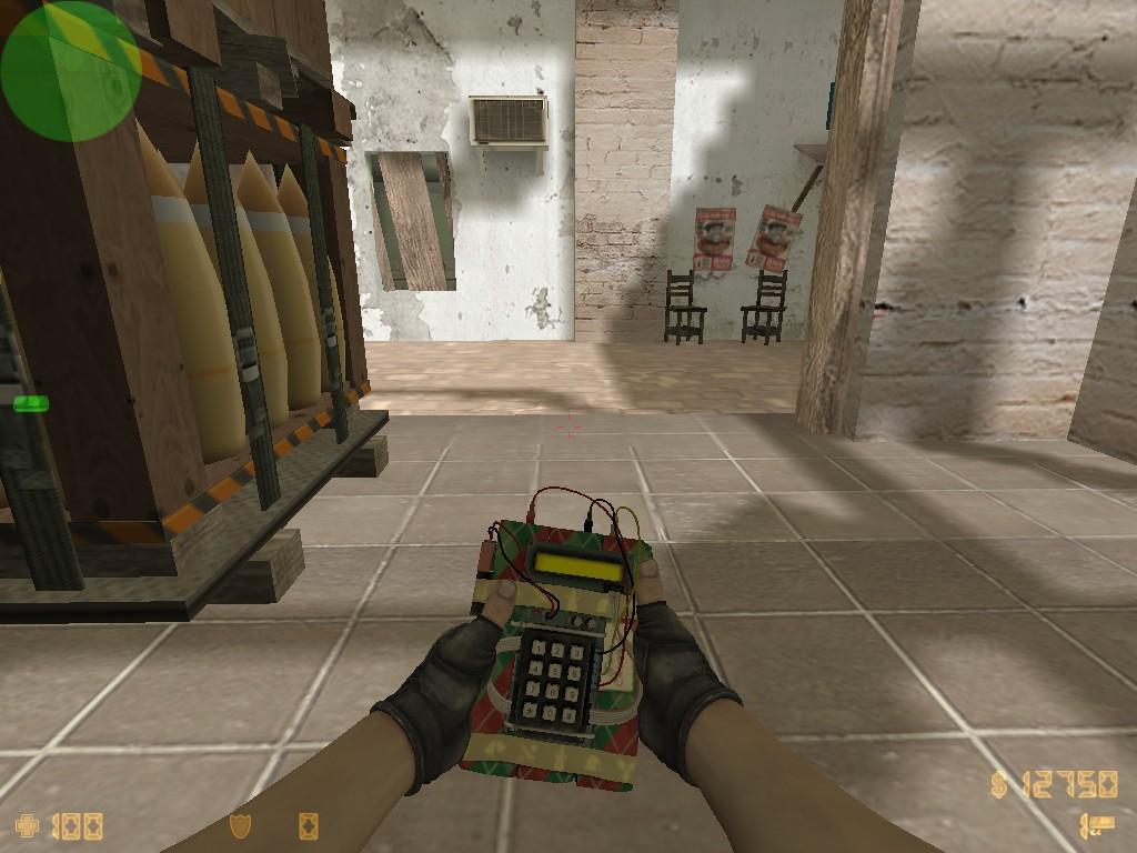 Скачать Новогодняя модель бомбы из CS:GO
