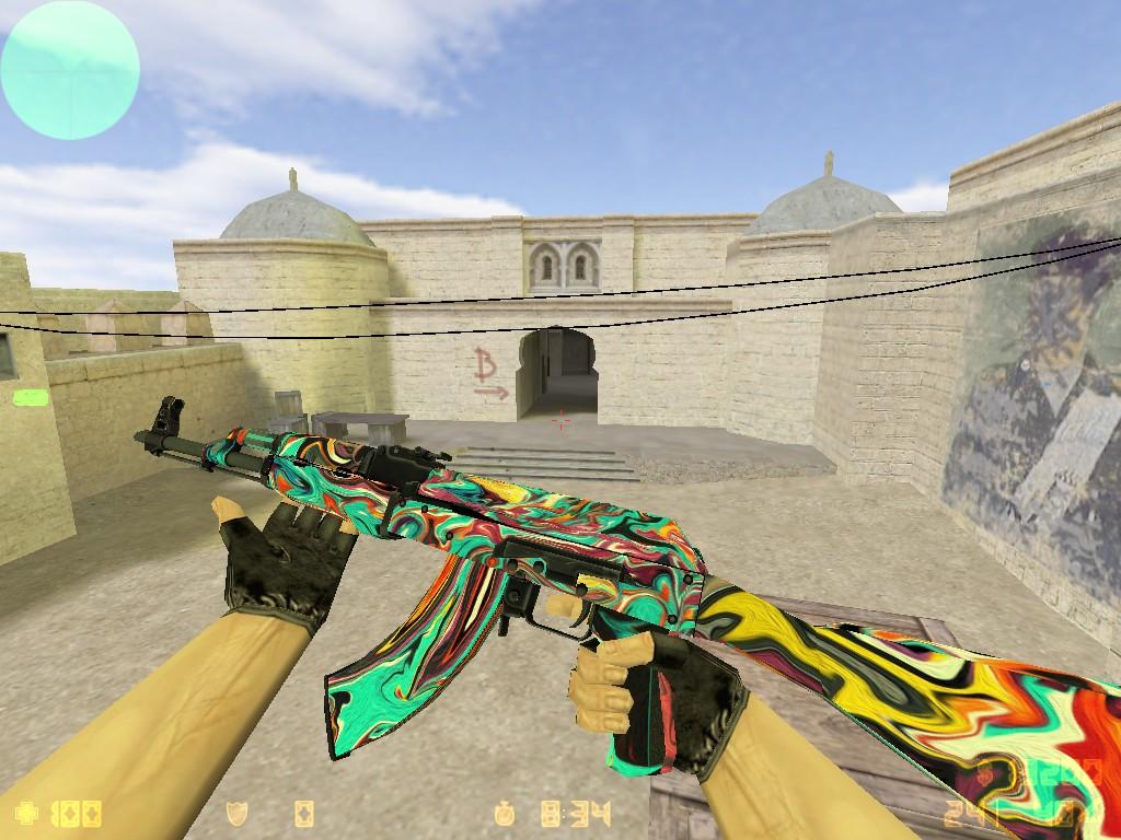 Скачать AK-47 Красочный Апокалипсис